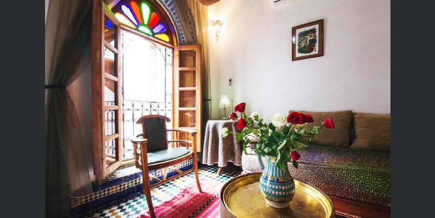 Splendide Riad Titré et meublé