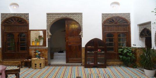 maison d'hôtes marocaine traditionnelle