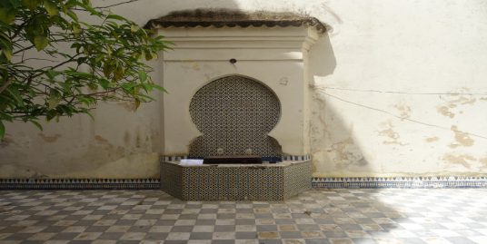 Rez-de-chaussée à coté de Palais Faraj
