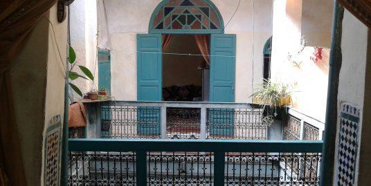 maison traditionnelle au cœur de l'ancienne Médina