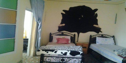 Maison meublée à  louer