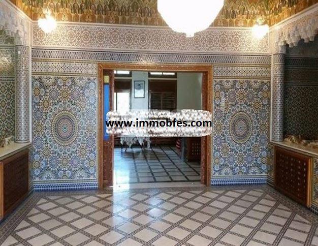 Villa de charme fassi avec 3 façades