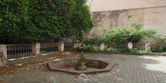 maison traditionnelle à rénover avec un jardin