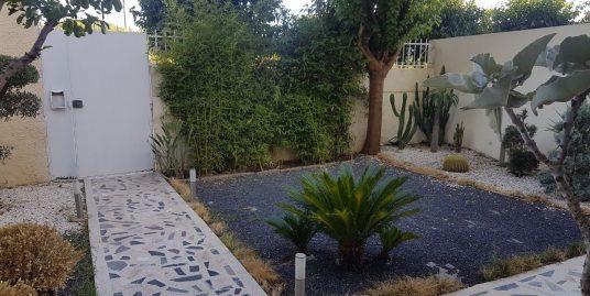 villa avec jardin à louer