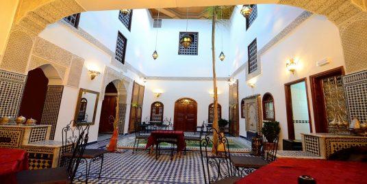 Riad rénové exploité en maison d'hôtes