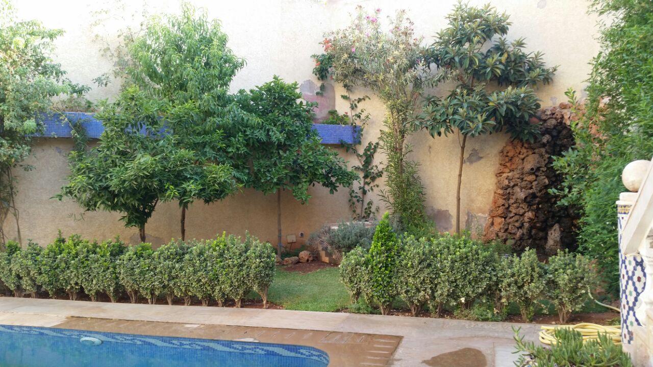 Villa R+2 à vendre avec jacuzzi  piscine et jardin