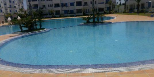 Bel Appartement avec deux piscines à Titouan
