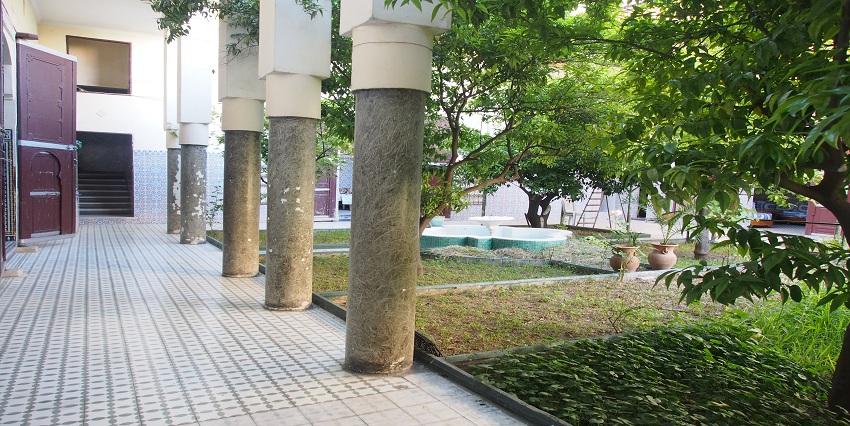 Bel Riad avec deux jardins