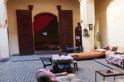 Maison traditionnelle d'une grande surface à vendre dans la Médina