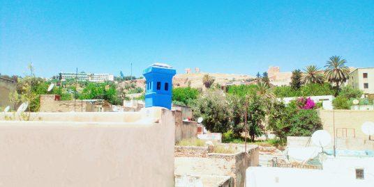 Riad avec maison à deux entrées