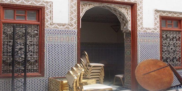Rez-de-chaussée traditionnel à vendre dans la Médina