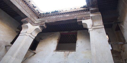 Maison en ruine avec une Masria