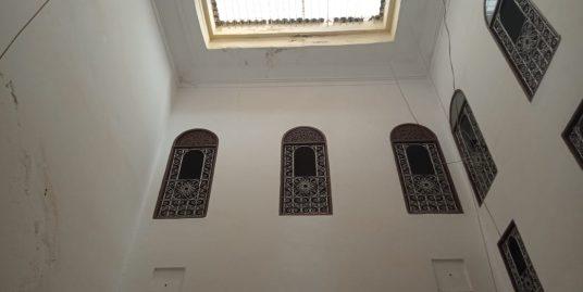 Maison traditionnelle à rénover dans la Médina