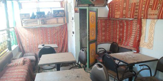 Café sur deux étages a vendre