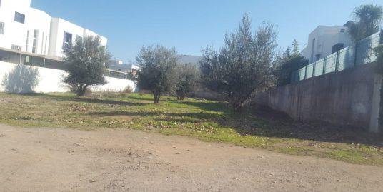 Lot terrain zone villa