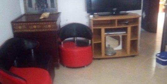 Appartement au RDC meublé a martil